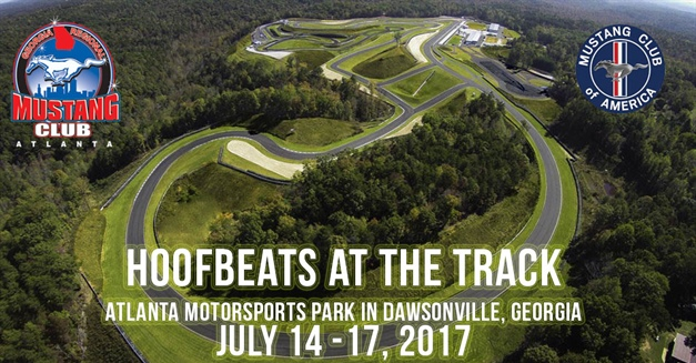 Hoofbeats at the Track National Mustang Event